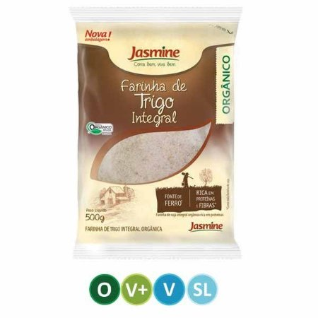 Farinha de Trigo Integral Orgânico - Jasmine - 500g