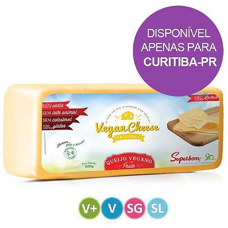 Queijo Vegano sabor Prato Superbom 480g