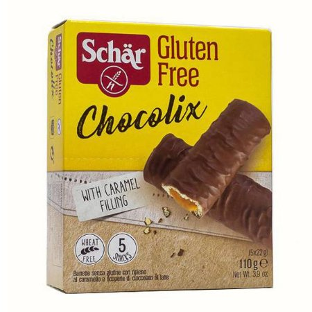 Chocolix Biscoito Recheado Sem Glúten Schar