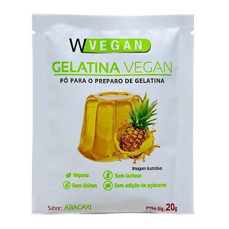Gelatina Vegana sabor Abacaxi Wvegan