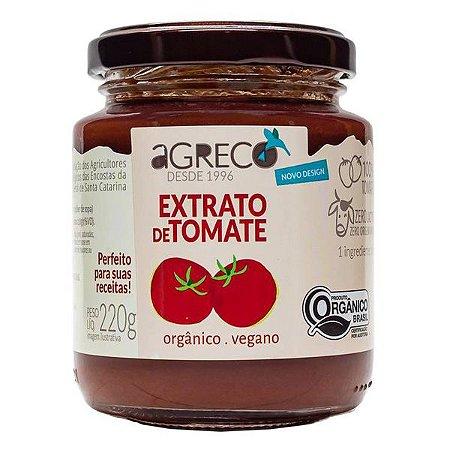 Extrato de Tomate Orgânico Agreco 220g