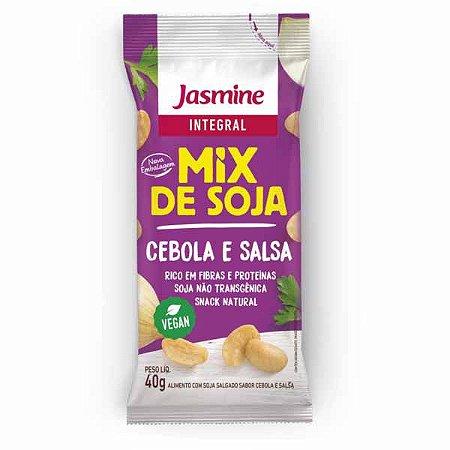 Mix de Soja sabor Cebola e Salsa Jasmine 40g