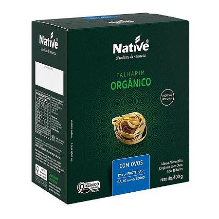 Massa Talharim Orgânico com Ovos Native 400g