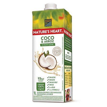 Leite de Arroz e Coco Nature's Heart 1 litro