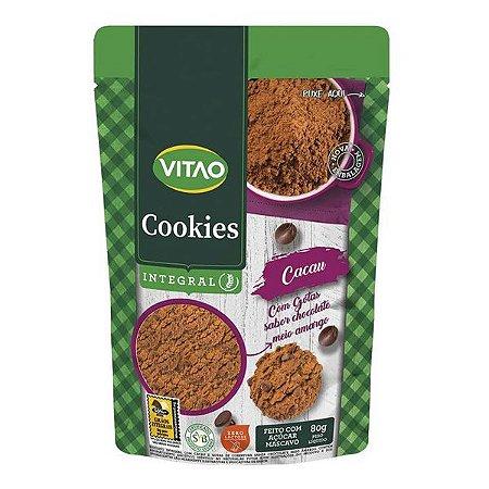 Cookie Integral de Cacau com Gotas Vitao 80g