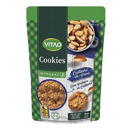Cookie Integral Castanha do Pará Vitao 80g