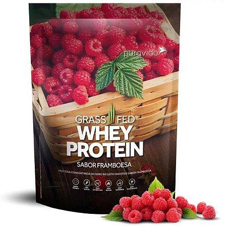 Whey Protein sabor Framboesa Pura Vida 450g
