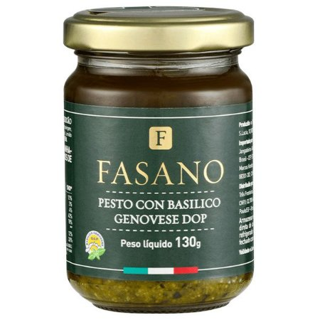 Molho Pesto con Basilico Genovese DOP Fasano 130g