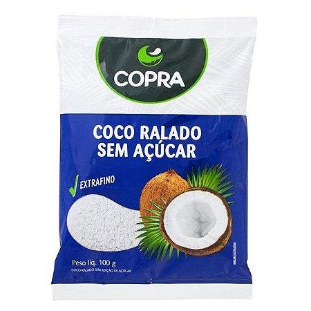 Coco Ralado Fino Sem Açúcar Copra 100g