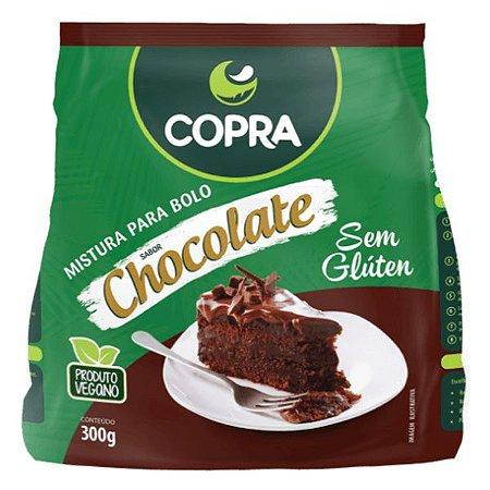 Mistura para Bolo Chocolate Sem Glúten Copra 300g