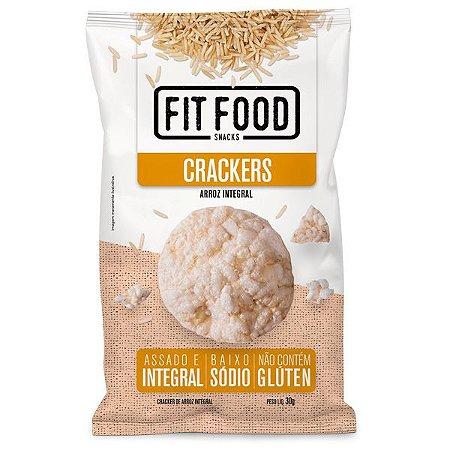 Biscoito Cracker de Arroz Natural Fit Food 30g