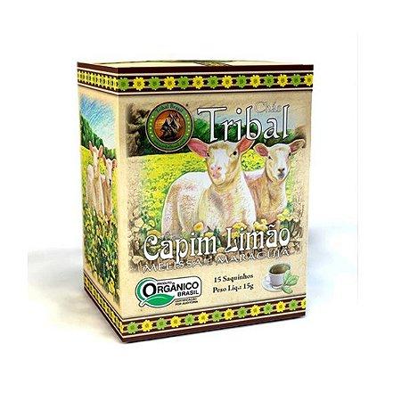 Chá Orgânico Capim Limão - Caixa 15 Sachês