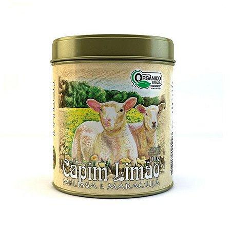 Chá Orgânico Capim Limão Lata 100g