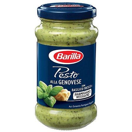Molho Pesto Alla Genovese Barilla 190g