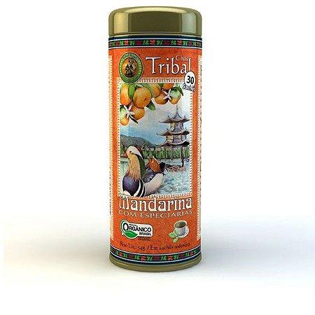 Chá Orgânico Mandarina com Especiarias - 30 Sachês