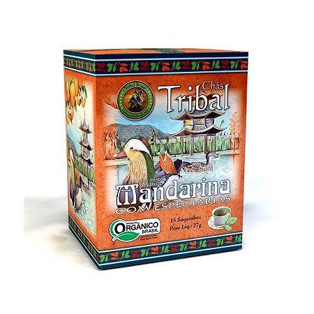 Chá Orgânico Mandarina com Especiarias - Caixa 15 Sachês
