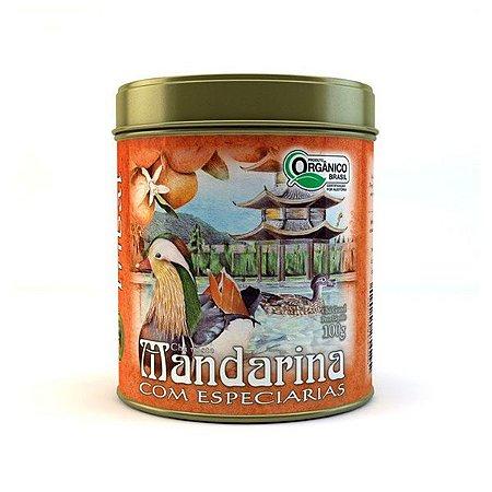 Chá Orgânico Mandarina com Especiarias - Lata 100g