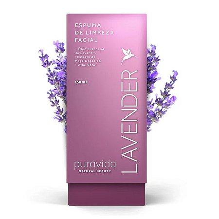 Lavender Espuma de Limpeza Facial Pura Vida 150ml