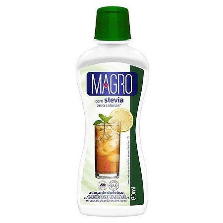 Adoçante Líquido com Stevia Magro 80ml