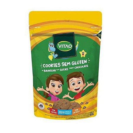 Cookie de Baunilha com Gotas Sem Glúten 80g