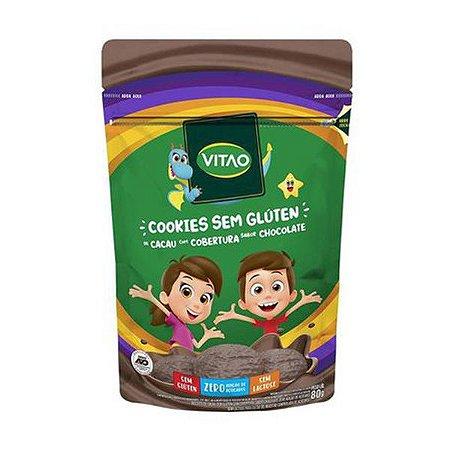 Cookie de Cacau com Chocolate Sem Glúten 80g