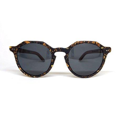 Óculos de madeira masculino Aquira