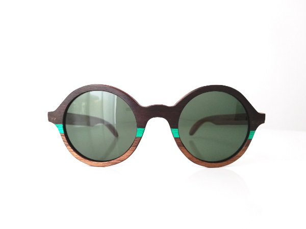 Óculos de Madeira Masculino Toriba