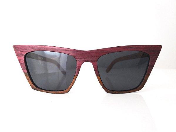 Óculos de Madeira Feminino Tuane