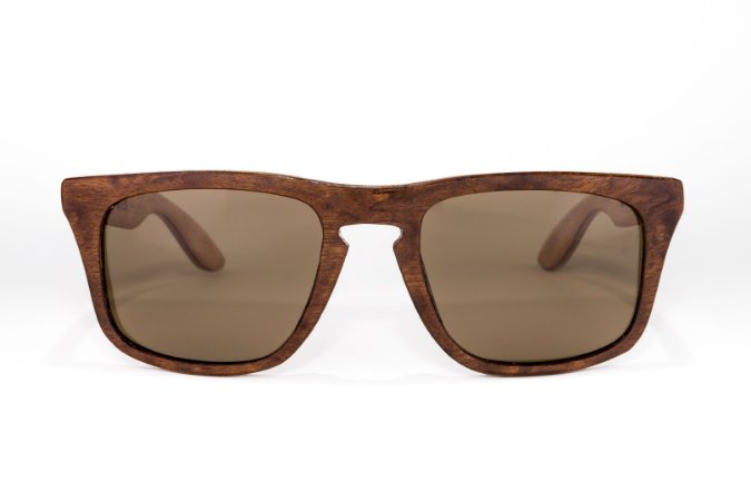 Óculos de madeira masculino Xavante