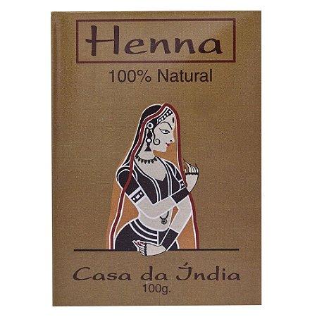 Henna Pura - Casa Da Índia