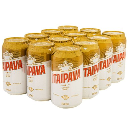 Cerveja Itaipava 12x350 (Gelada)