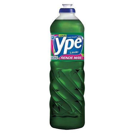 Detergente Ypê Líquido Limão 500ml