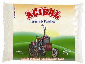 Farinha de Mandioca Acigal 1kg