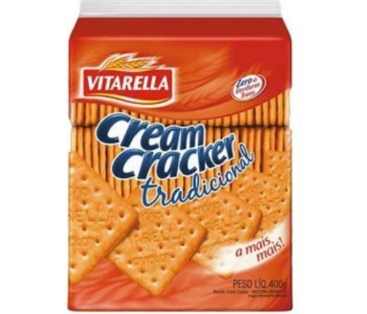 Biscoito Vitarella Cream Cracker 400g