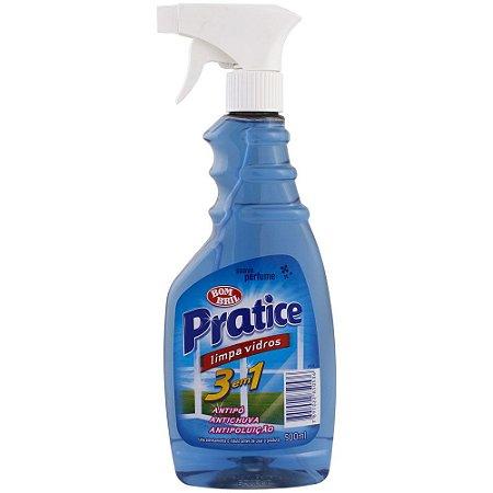 Limpa Vidro líquido Pulverizador Pratice 500ml