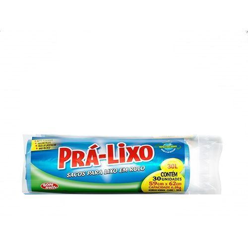 Saco Prá-Lixo Rolo 30L
