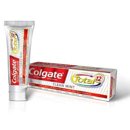Creme Dental Clean Mint Total 12 Colgate 50g