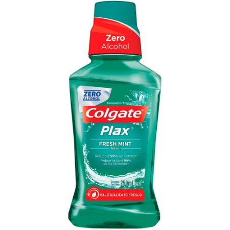 Enxaguante Bucal Fresh Mint Colgate Plax 250ml