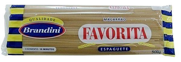 MACARRAO ESPAGUETE FAVORITA 500G