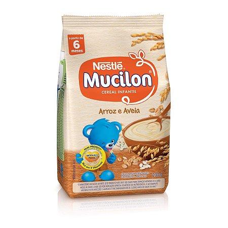 Mucilon Cereal de Aveia e Arroz Sache 230g