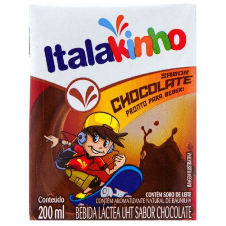 Bebida Láctea Sabor Chocolate Italac 200ml
