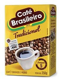 Café Brasileiro a Vácuo Moído 250g