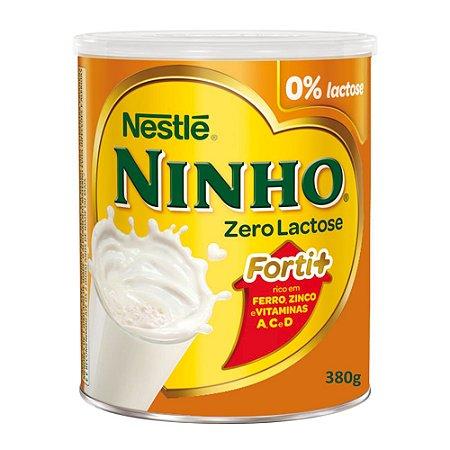 Leite NINHO Forti+ Zero Lactose 380g