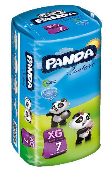 Fralda Panda Confort Tradicional XG 7Und