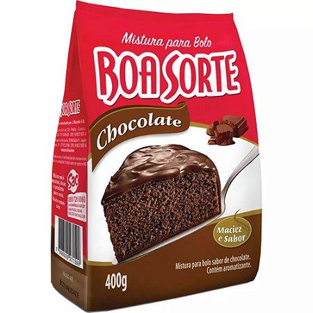 Mistura para Bolo Boa Sorte Chocolate 400g