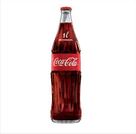 Refrigerante Coca cola Retornável KS Vidro 1Litro