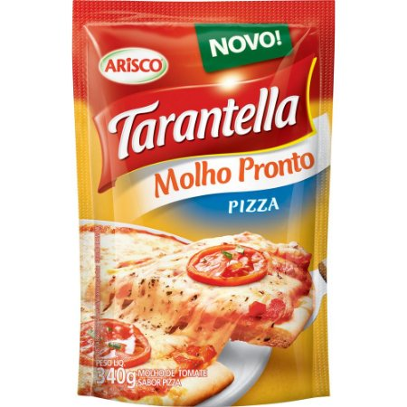 Molho de Tomate Tarantella Pizza Sachê 340g