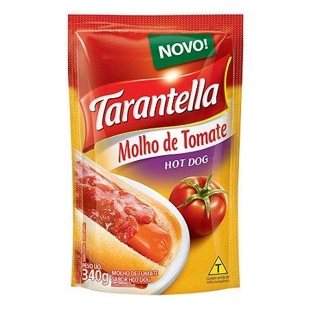 Molho de Tomate Tarantella Hot Dog Sachê 340g