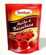 Molho de Tomate Tambaú Bolonhesa Sachê 200g