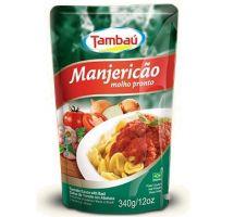 Molho de Tomate Tambaú Manjericão Sachê 340g